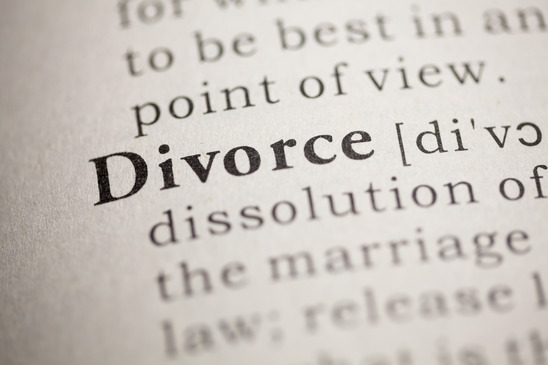 Fake Dictionary, Dictionary definition of the word Divorce.